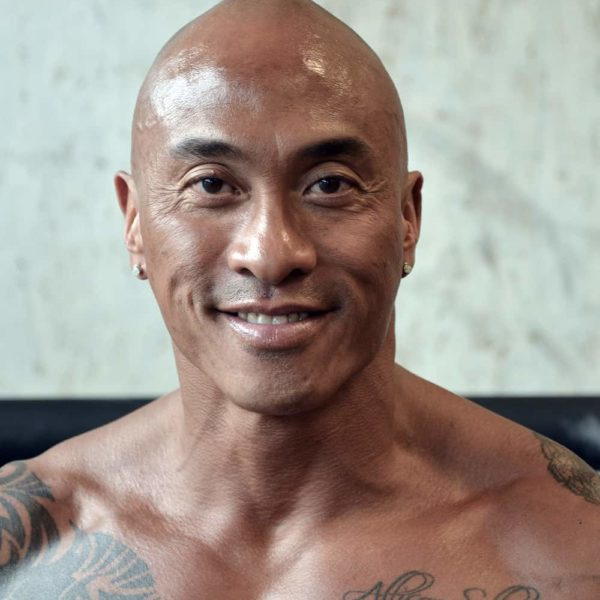 Edgar trains hard to be The Rock's Body Double