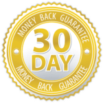 30-day money back badge-probiotics