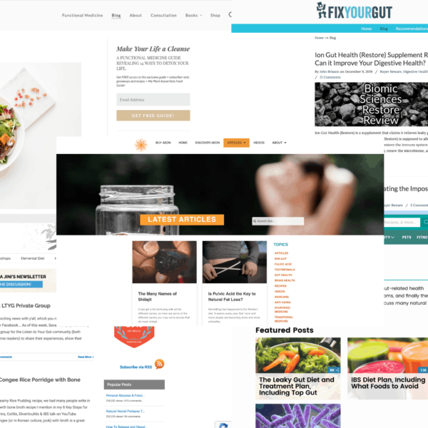 Top 5 Gut Health blogs of 2020[UPDATED January 20, 2020]