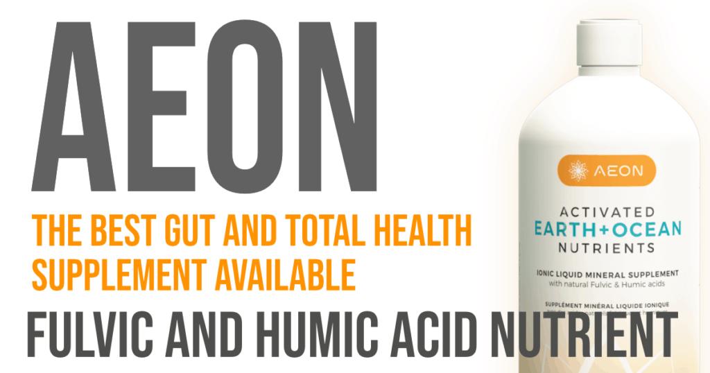 aeon fulvic acid supplement for gut health